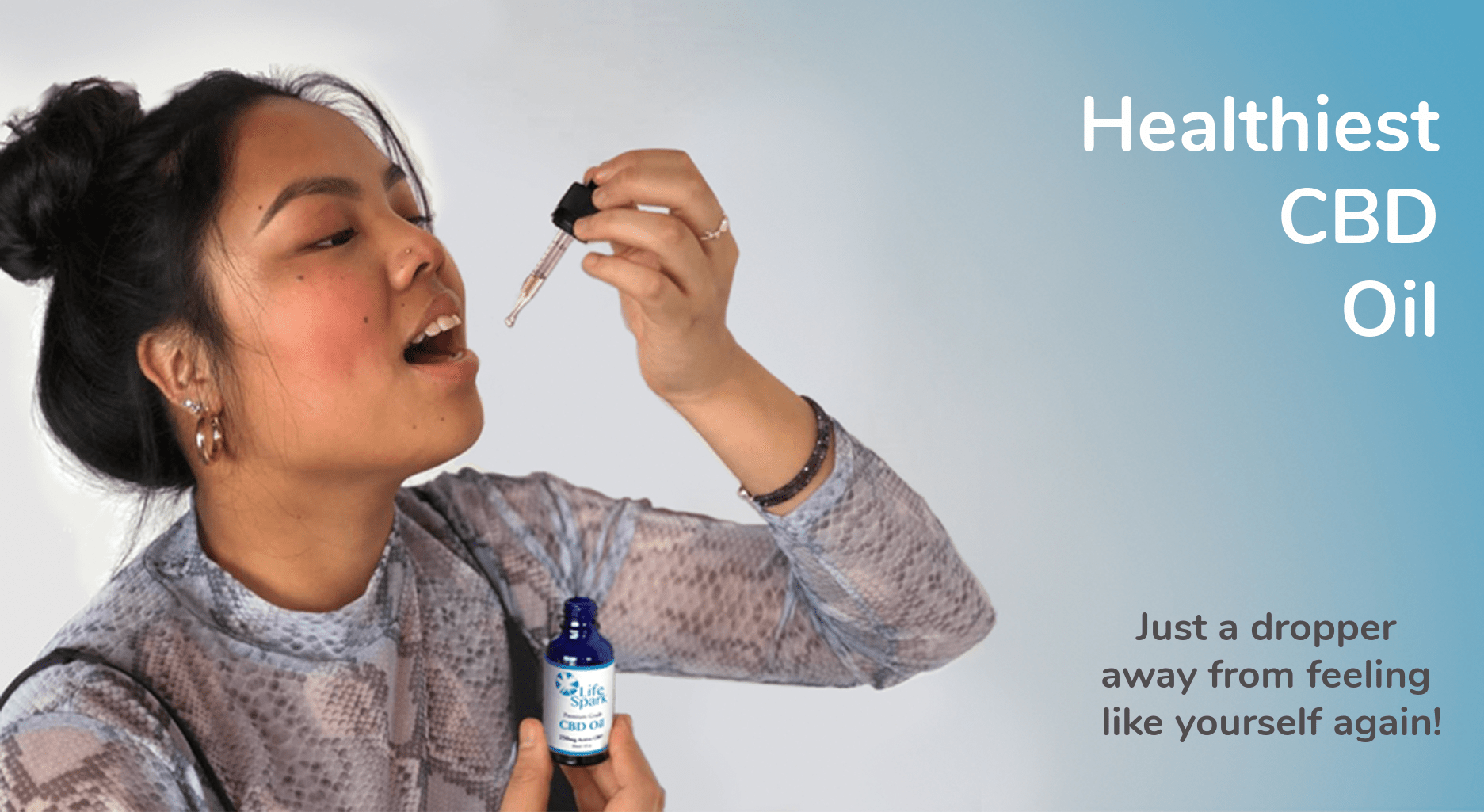 CBD Oil – Just a dropper away from feeling like yourself again.